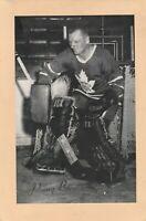 1944/64 BEEHIVE CORN SYRUP GROUP 2 NHL HOCKEY PHOTO JOHNNY BOWER LEAFS