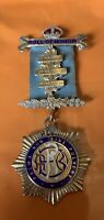 RAOB - Roll Of Honor Medal - Hallmarked Silver - Free Post