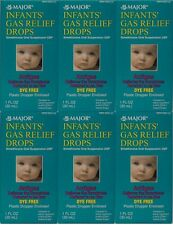 Infants Gas Relief Drops 30mL by Major (Compare to Mylicon Drops) -6 Pack