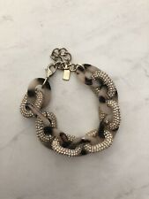 Link Bracelet Leopard! Baublebar Anthropologie Heavy Bling