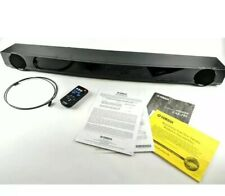 Yamaha YAS-101 Sound Bar Front Surround System - Black w/Remote, Manual, & Cable