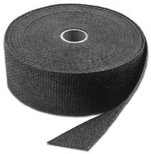 """Exhaust Wrap 1"""" x 50 Ft Roll High Temp Tape Motorcycle Exh Bandage Ties Titanium"""