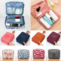 Beauty Cosmetic Makeup Bag Toiletry Case Hanging Pouch Wash Organizer Storage