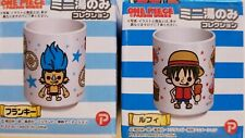 One Piece Panson Works (2xMini Shot Glass) Collection Luffy Meat