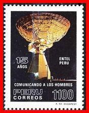 PERU 1985 SPACE TELECOMMUNICATIONS SC#833 MNH (D01)