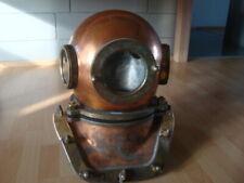 Rare Original Soviet russian 12/3-bolt Diving Helmet  made in USSR/ 1991