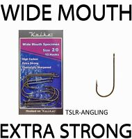 SEA FISHING HOOKS -  KOIKE TACKLE WIDE MOUTH SPECIMEN  -  ALL SIZES 2/0 - 10/0