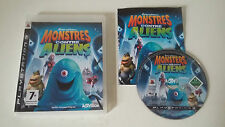 DREAMWORKS - MONSTRES CONTRE ALIENS - SONY PLAYSTATION 3 - JEU PS3 COMPLET