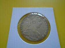 Autriche 1780 X Marie Thèrèse Thaler Monnaie en Argent TBE
