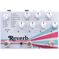 Empress Effects Reverb True Buffered Bypass Guitar Effects Stompbox FX Pedal