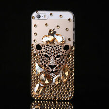 NEW Women Girly Jewelled Bling Crystals Soft Phone Protective Cases #