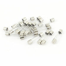 40 Pcs New Fast Blow Type Glass Tube Fuses 6x30mm 250V 10A  with tracked  NO.