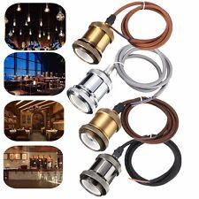 1M E27/E26 Titulaire Culot Douille Cuivre Pendentif Loft Câble Rétro Edison Bulb