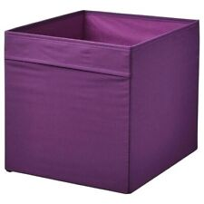 IKea Drona Box Purple storage Kallax Shelving Shelf Boxes Brand New X4