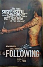 SDCC EXCLUSIVE THE FOLLOWING FOX SIGNED KEVIN BACON POSTER SAN DIEGO COMIC-CON