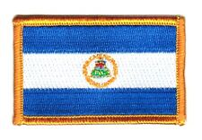 Parche bandera PATCH NICARAGUA 7x4,5cm bordado termoadhesivo nuevo