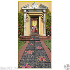 HOLLYWOOD Movie Night Awards Party Prop STAR WALK OF FAME Floor RUNNER 2'x10'