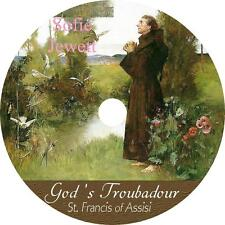 God's Troubadour, St. Francis of Assisi by Sofie Jewett Audiobook on 2 Audio CDs