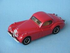 Matchbox 1954 Jaguar XK 120SE Red Body English Sports Toy Model Car Roof