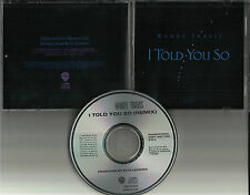 RANDY TRAVIS I told you so w/ RARE REMIX 1987 USA PROMO RADIO DJ CD single MINT
