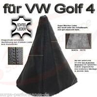 Schaltsack Schaltmanschette für Schaltknauf VW Golf 4 + Bora Echt Leder