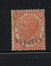 Italy  33  used  great  color   lite cancel  catalog  $125.00           CR0628