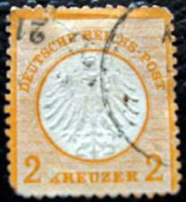 ALLEMAGNE - timbre - yvert et tellier n°8 obl (2eme choix) - stamp germany
