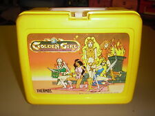 1984 Vintage NICE! Rare! Golden Girl Plastic Lunchbox Kit Pail (Thermos Inc.)