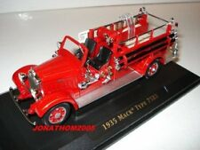 OCCASION YAT MING MACK TYPE 75BX 1935 FIREFIGHTERS Firefighters at the 1/43°
