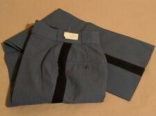 Vtg Horace Small Capitol Deluxe Blue Striped Uniform Pants W24 L36 WPL7230 Women