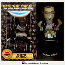 Pokers Stars Bubble Head-- Poker Star: Joseph Hachem