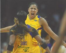 Odyssey Sims Signed 8x10 Photo Wnba Basketball Los Angeles Sparks Free Shipping