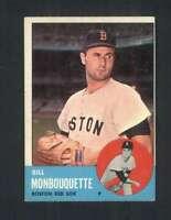 1963 Topps #480 Bill Monbouquette EX+ Red Sox 106591