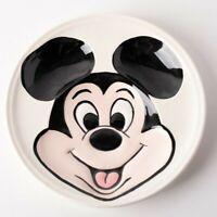 Vintage Walt Disney Decorative Ceramic Wall Plate Hanging 3D Mickey Mouse Rare