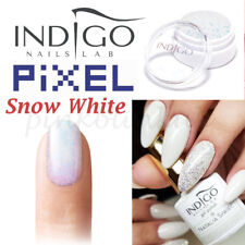 INDIGO Pixel Effect Snow White ŚNIEŻKA Nail Powder Glitter Mermaid Dust Glitter