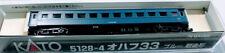 Kato N Scale 5128-4  Ohafu 33 Blue