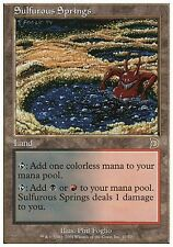 Sorgenti Sulfuree - Sulfurous Springs MTG MAGIC DM Deckmasters English