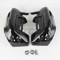 Lower Vented Leg Fairings Cap Glove Box For Harley Davidson Touring Glide 83-13