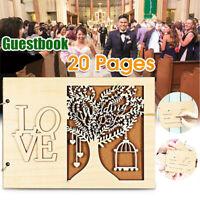 DIY Wedding Decoration Party Supplies Wedding Guest Book Message Board Wooden