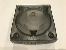 SEGA Dreamcast Console 3rd Party Translucent Case Shell Gray Skeleton