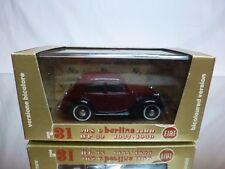 BRUMM R31 FIAT 508 C 1100 BERLINA 1937-1939 - DARK RED 1:43 - EXCELLENT IN BOX