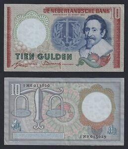 Olanda - 10 gulden 1953 BB+/VF+  A-01