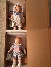 Nib 2 Vintage Jesco Scootles 1964 Kewpie Doll Boy Girl With Tags