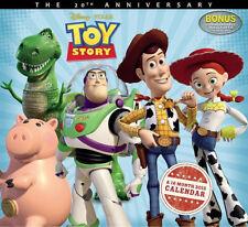 Walt Disney/Pixar Toy Story Movie 16 Month 2015 Wall Calendar, New Sealed