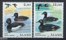 Aland/Åland 1987, Birds, Ducks 2v MNH