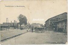 AK Hauptstrasse in Montchentin -Feldpost 1.WK (n569)