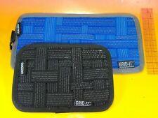 GRID-IT! Cocoon Organizer 2 pieces 10.5 x 5.5 blue AND 5.25 x 7.25 black