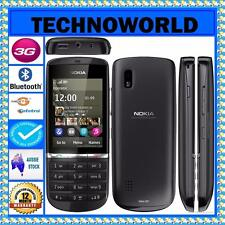 UNLOCKED NOKIA ASHA 300 TOUCH & TYPE+NEXT G+BLUE TICK+3G+BLUETOOTH+MP3