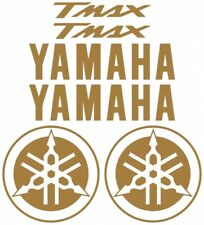Stickers Kit Stickers 6 Pieces Carved Gold Yamaha Tmax Tmax 500 530