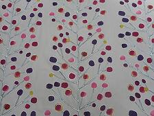 "Harlequin/Scion Tessuto ""Berry Albero"" 3 metri beige/Prugna/Berry/Lime 100% COTONE"